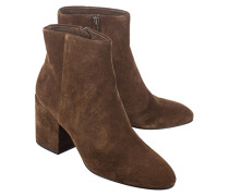 Cleane Ankle Boots  // Eden Suede Russet