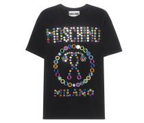 T-Shirt mit Spiegeldetails  // Mirror All Over Black