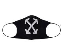 Maske mit Label-Logo