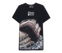 T-Shirt mit Print  // Sharks Black