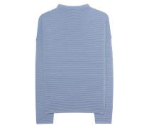 Kastiger Feinstrick-Pullover  // Florence Smoke Blue
