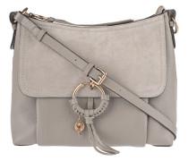 Crossbody Bag aus Kalbsleder  // Joan Small Motty Grey