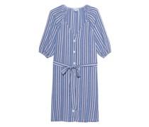 Gestreiftes Mini-Kleid