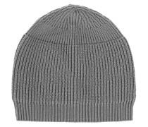 Gerippte Strick-Mütze