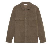 Jacke aus Alpaka-Woll-Mix