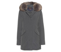 Daunen-Parka mit Fellbesatz  // Luxury Arctic Parka Grey