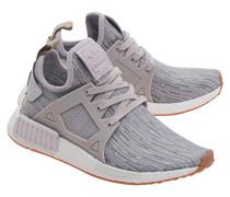 Flache Textil-Sneakers  // NMD Primeknit Icepur