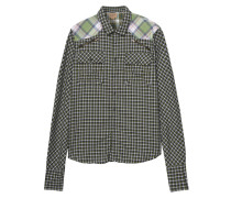 Check Patch Olive
