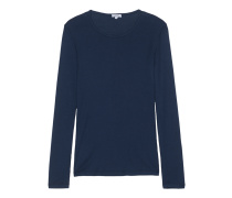 Schmales Jersey-Longsleeve  // One and One Long Navy