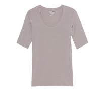 Weiches Stretch-T-Shirt  // Soft Touch Sleeve Stone