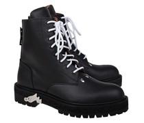 Leder-Boots mit Schnürung