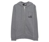 Hoodie mit Zipper  // Hood Zip Logo Grey