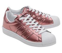 Sneakers mit Kunststoffkappe  // Superstar Boost Copper Metallic