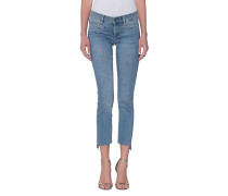 7/8-lange Skinny-Jeans  // Paris Broken