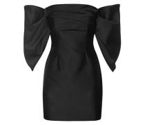Off-Shoulder Kleid mit Drapierungen