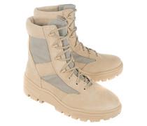 Veloursleder-Boots  // Combat Sand