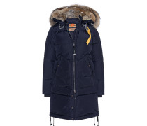 Daunen-Parka mit Fellbesatz  // Long Bear Navy