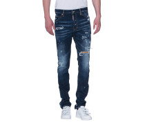 Slim-Fit Jeans im Destroyed-Look  // Cool Guy Jean