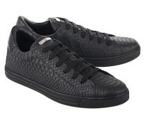 Sneakers aus geprägtem Leder  // Sneaker Tennis Club Nero