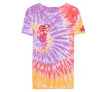 Viskose-T-Shirt im Batik-Look