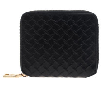 Square Leath Black