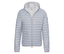 Leichte Steppjacke mit Kapuze  // Giga Hood Light Grey