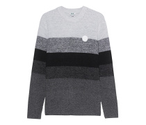 Knit Stripe Grey