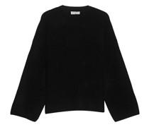 Oversize Kaschmir-Mix Pullover