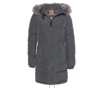 Daunen-Parka mit Fellbesatz  // Light Long Bear Grey
