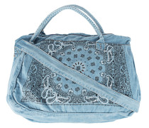 Weekender aus Denim  // Overnighter Blue Jane