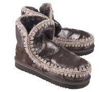 Kurze Schafsleder Stiefel  // Eskimo 18 Camouflage