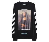 Sweater mit Mona Lisa Print  // Mona Lisa Black