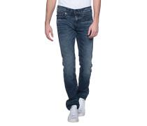 Jeans mit Kontrast-Nähten