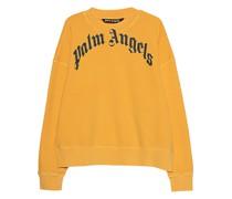 Bedrucktes Oversize Sweatshirt im Vintage-Look