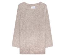 Alpaka-Mix Pullover  // Bubble Knit Sand