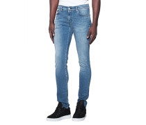 Slim-fit Jeans im Washed-Out-Look  // Ronnie Magnificent Light Blue