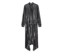 Schimmerndes Maxi-Kleid