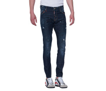Slim-Fit Jeans im Farb-Finish  // Sexy Twist Jean