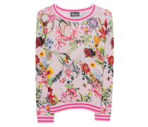 Woll-Kaschmir-Pullover  // Flower Animal Print Multicolor