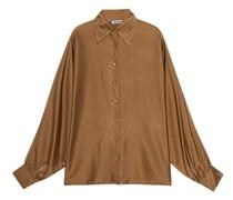 Oversize-Bluse mit Fledermausärmeln