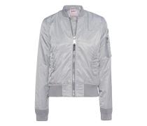 Bomber Silver Grey