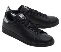 Flache Leder-Sneakers  // Stan Smith Coreblack
