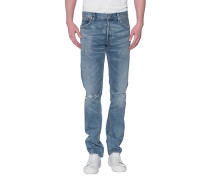 Slim-Fit Jeans im Vintage-Look
