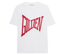 Baumwoll-T-Shirt mit Logo  // Golden Var White Red
