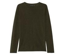 Seiden-Pullover mit Rundhalsausschnitt