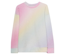 Kaschmir-Mix-Pullover mit Farbverlauf  // Felted Sweatshirt Rainbow Gradient