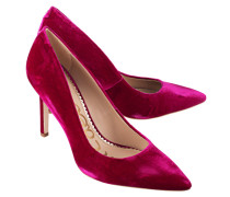 Samt-Pumps  // Hazel Pink Velvet