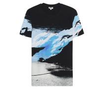 Baumwoll-T-Shirt mit All-over-Print
