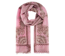 Tuch mit Paisley-Print  // Light Pashmina Rose