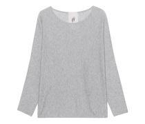 Baumwoll-Kaschmir-Pullover  // Imara Light Grey